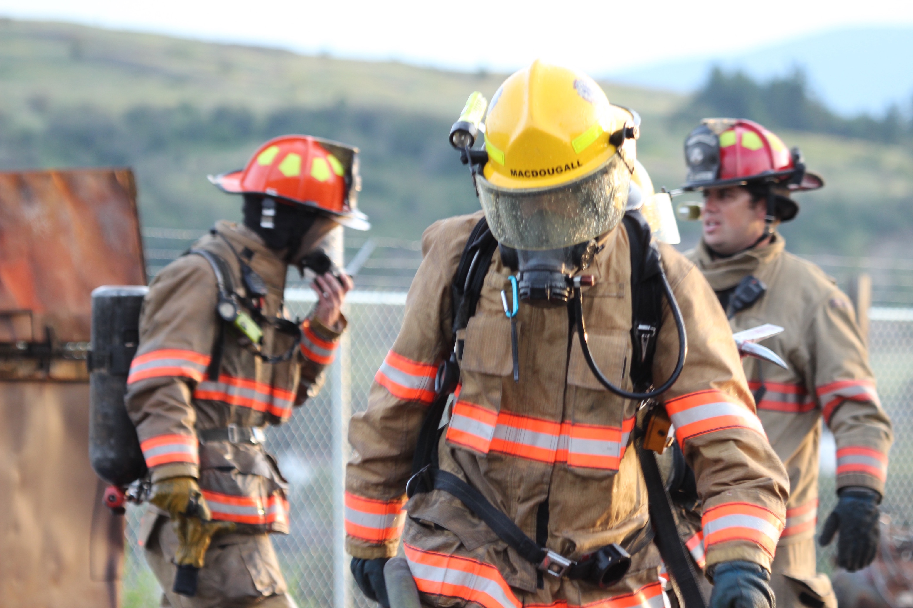 Training at Fire Training Centres